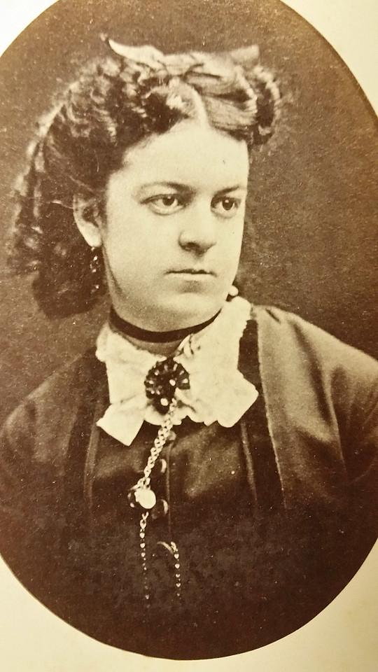 Georgianna Hunt. Grand grand grand-mère de Valerie R. McChesney