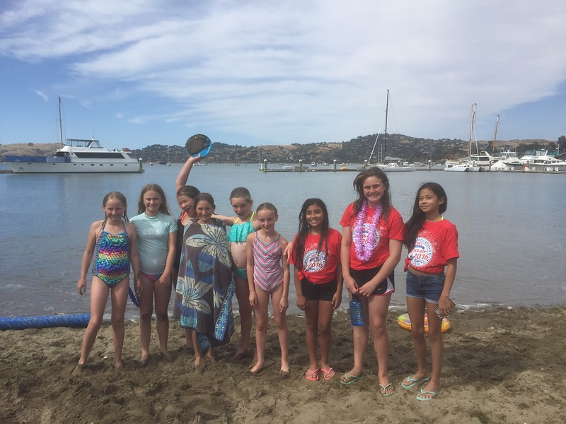 1st day of summer @ the beach in Sausalito