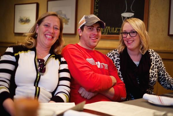 With the Van Essens - April 4, 2015