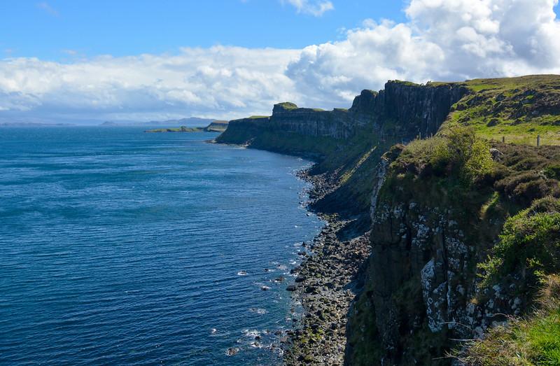 Coastline view, Isle of Skye, Scotland.