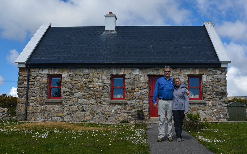 We rented Michale's Cottage in Galway, Ireland for 3 nights.