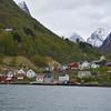 Fishing Village, Nyreofjord, Norway.