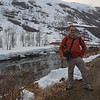 Vance on trail outside Myrdal, Norway.