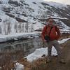 Vance on trail outside Myrdal, Norway.