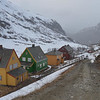 Path to our motel in Myrdal.