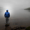 Vance feeling mysterious at Loch Lomand, Scotland.