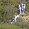 Triple waterfall, Nyreofjord, Norway.