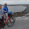 Karen and Vance biking, Inis Mor, Aran Islands, Galway, Ireland.