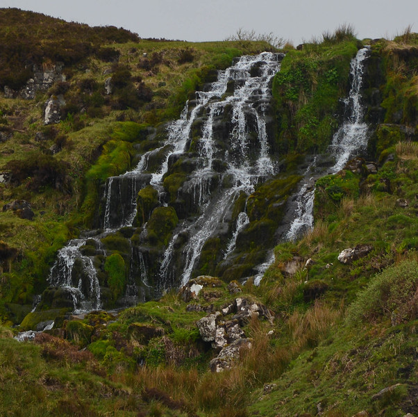 Waterfall, Scottish Highlands.