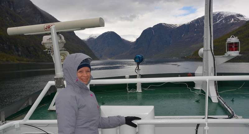 Karen, Ferry, Nyreofjord, Norway