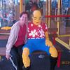 Carmen at Legoland lobby