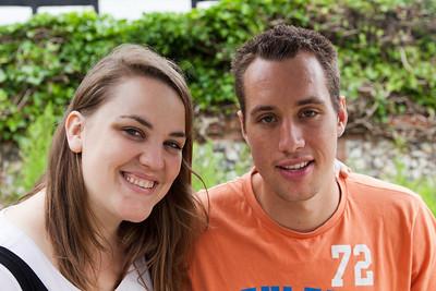 Catriona and Josh