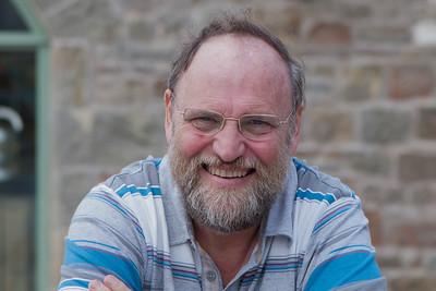 Jock Hughes, photographed by Joy Wilson