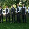 the groomsmen - I hope Vita got a photo of them smiling!