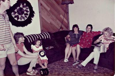 Butch, Mary Lou, Missy, JennyLen and Melanie 1985