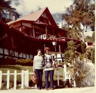 Granny and Grandma in Colonia Tovar, Venezuela (in the mountains near Caracas) in 1974.