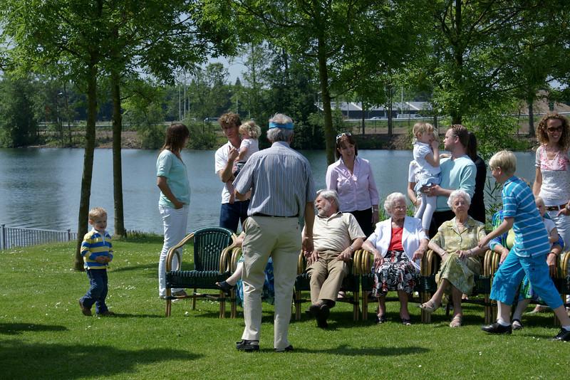 Verjaardag Oma 23-05-2009