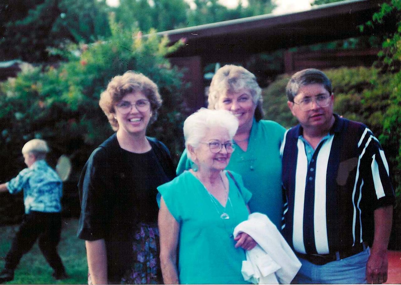 Janene Ford, Verna Mae Leggate, Sharyl Leggate, Jim Leggate