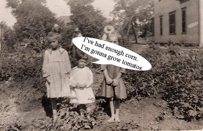 verna mae with others in garden new caption
