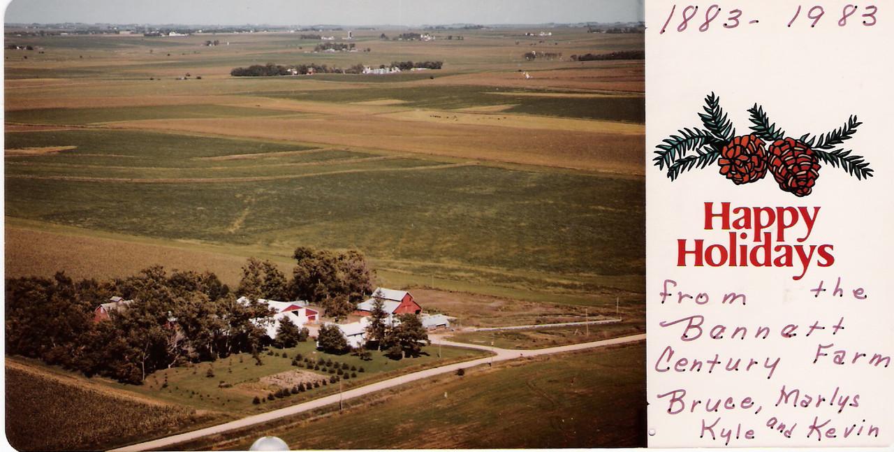 Bennett farm centennial