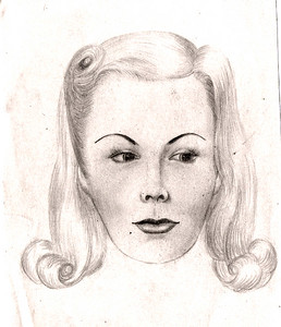 vm drawing woman