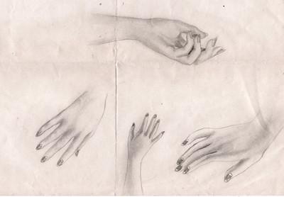 vm drawings hands
