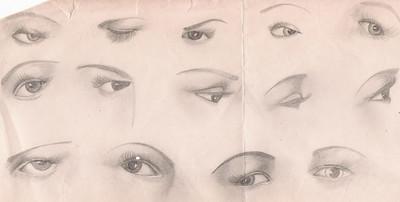 vm drawings eyes