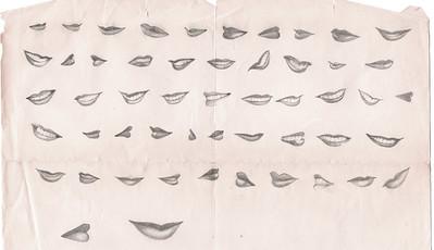 vm drawings lips