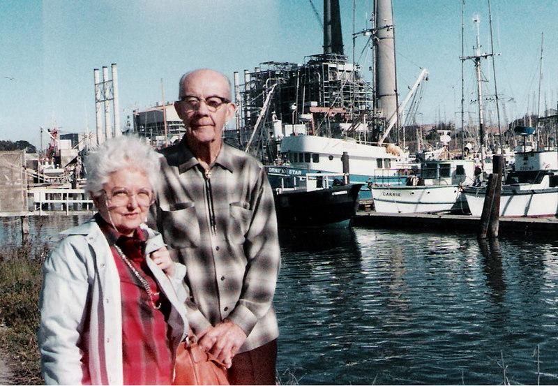 vm and Harold at Moss Landing