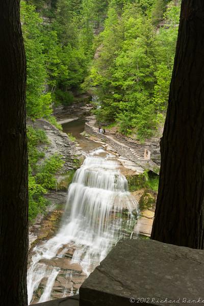 Waterfall, Robert F. Tremen State Park, Ithaca, NY