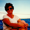 Vicki's Pictures Mom on sailboat 2