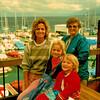Vicki's Pictures Grandma, Vicki, Shauna and Lindsey at marina