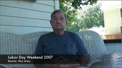 Bill Patterson Snr in 2007
