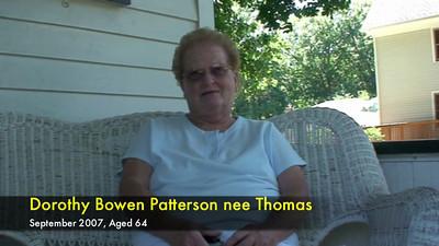 Dottie Patterson in 2007