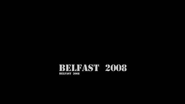 A bus ride in Belfast in 2008
