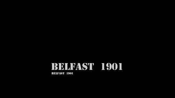 A horse tram ride in Belfast in 1901