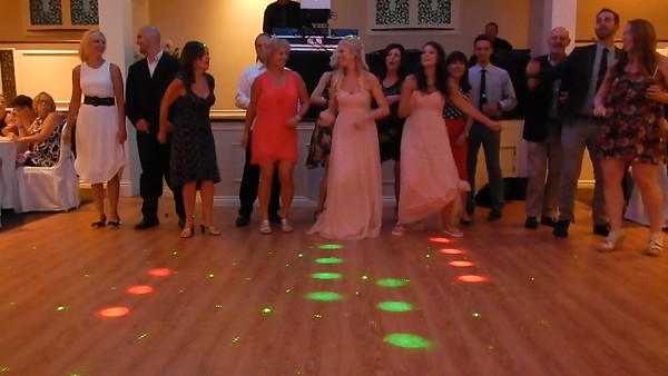 Lyndsey/Sean wedding , Shots and Squats Video