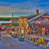 Lobster Shack in Bar Harbor, Maine-Where better to get lobster then in Maine. Everywhere you look you see promotions by local restaurants with Lobster on the menu. Some even promote two for one deals. Maine is a favorite destination in early June before the tourist season begins. B&B's have room and the weather is usually good. Bar Harbor has a great walking trail along the bay that is fun to stroll after dinner. As you walk along the trail, you can check out the backyards of huge homes and see how the other half live. Pricey area and beautiful views. Who wouldn't want to have a 2nd 0r 3rd home in this area.