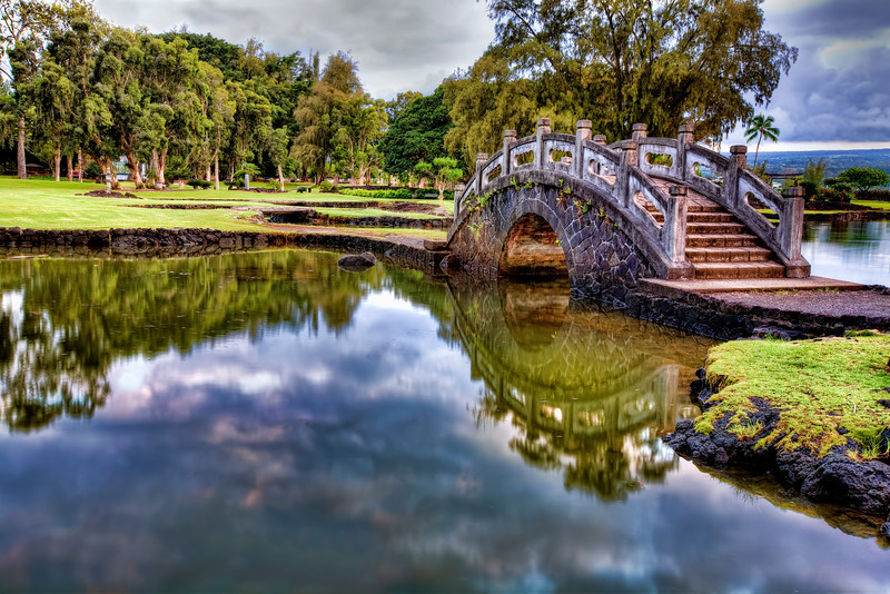 Liliuokalani Gardens, Hilo, Hawaii