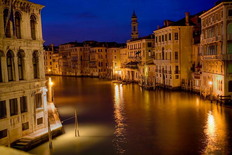 Grand Canal from Rialto Bridge, Venice