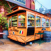 """Italian District in San Francisco, California<br /> This little Italian food cart had a charm all it's own, tucked along a major street of competing Italian restaurants that seemed to be everywhere. I spent 2 years in Italy, so as they say in Italian; """"Amo il cibo Italiano""""!"""