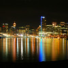Reflections-City Lights of Vancouver, British Columbia