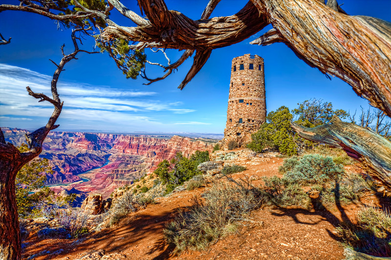 All Along The Watch Tower-Grand Canyon