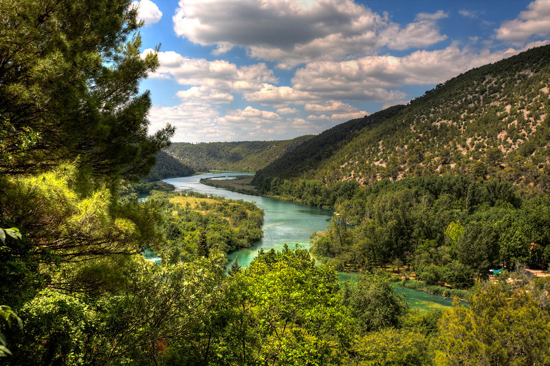 """""""Krka Falls runoff, Croatia""""-Sedona is considered by many as one of the top ten most desirable places to live in the U.S. If you have ever been there you could see why. Great weather, a beautiful scenic wonderland.<br /> <br /> We are at present in the Lake Tahoe area photographing some of the most exciting spots on the lake. Emerald Bay is our planned destination today. I will put down some photos of this trip soon."""