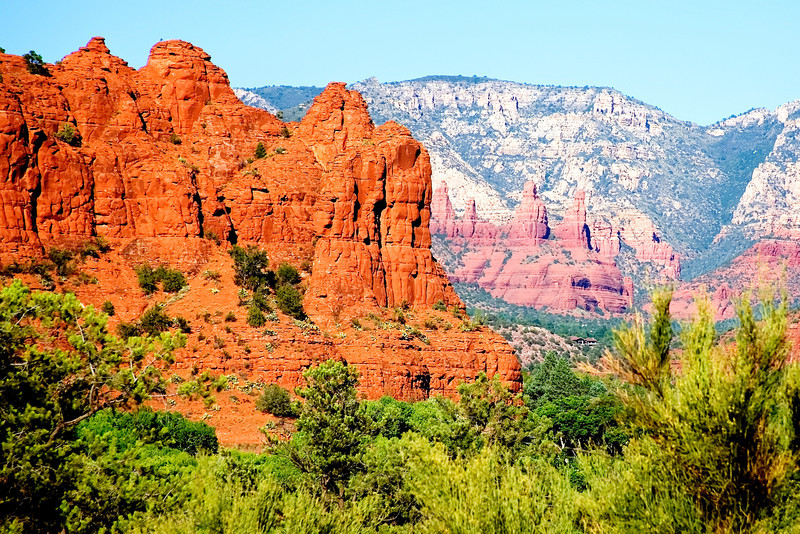 """""""Sedona Red Rock""""-Sedona is considered by many as one of the top ten most desirable places to live in the U.S. If you have ever been there you could see why. Great weather, a beautiful scenic wonderland.<br /> <br /> We are at present in the Lake Tahoe area photographing some of the most exciting spots on the lake. Emerald Bay is our planned destination today. I will put down some photos of this trip soon."""