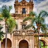 Spanish Architecture at Balboa Park, San Diego-On a recent trip this summer to San Diego we stayed at a B&B, just walking distance from this famous park. Everyone knows about the popularity of the San Diego Zoo which is in Balboa Park, but most people miss the beautiful architecture that surrounds the park. Since taking photos of animals is not my thing, wandering around shooting buildings and landscapes is. HDR photography works best when things don't move, since you have to take multiple pictures and then merge them together. Otherwise you get ghosting and other problems. Usually wind gives you enough problems to deal with and HDR programs provide some latitude for this as long as it is not extreme, like it was on a recent springtime trip to Arches National Park.