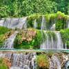 Cascades on Krka Falls, Croatia
