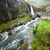 Waterfalls on Conner Pass, Ireland