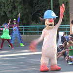 Pixar Play Parade at Disneyland