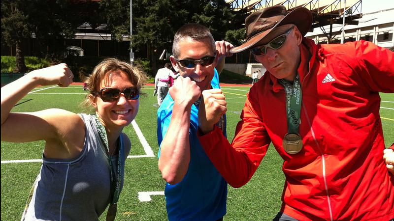 Liz rocks her first marathon